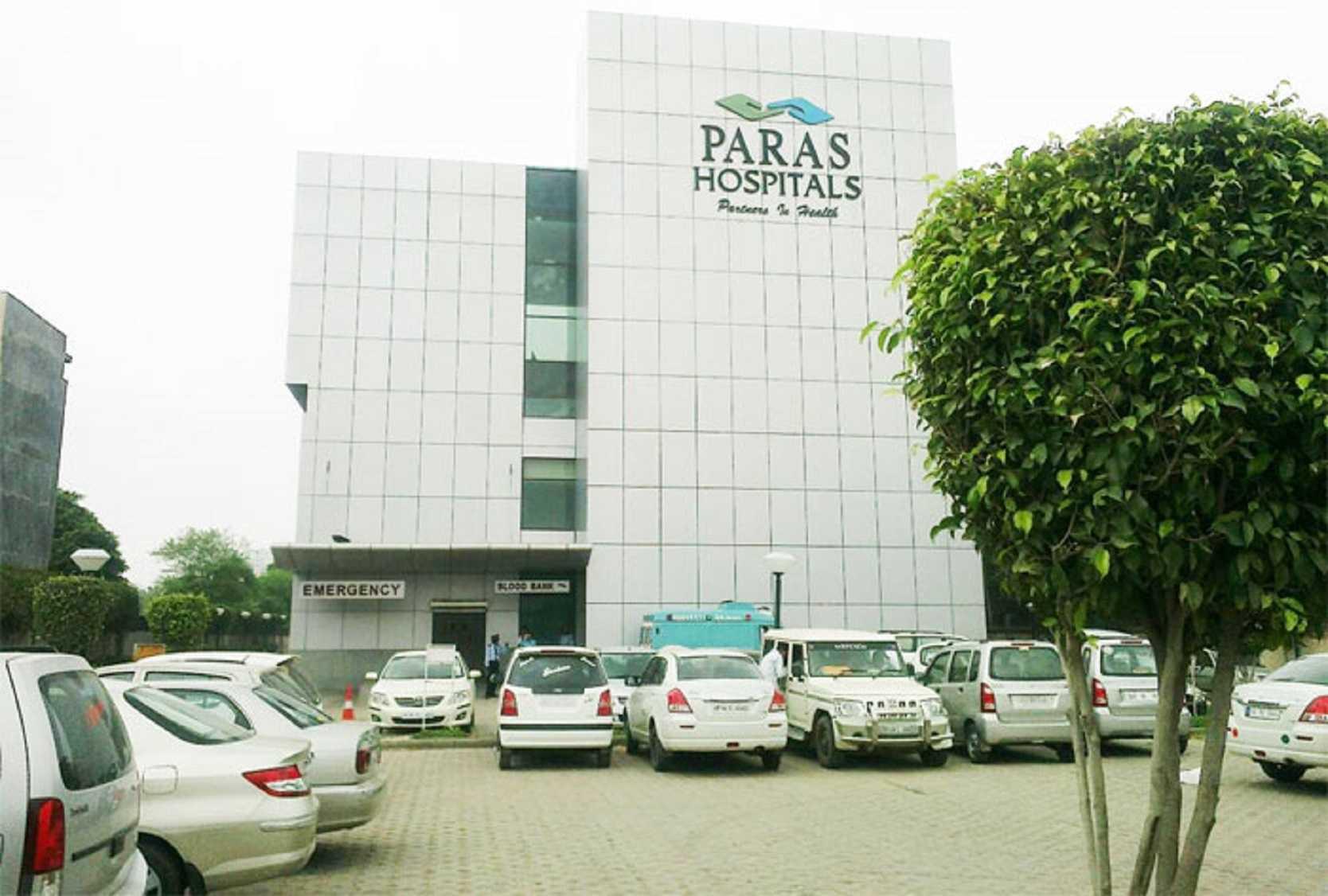 Paras hospitals gurgaon c06080